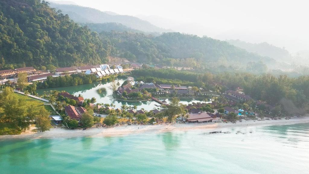 A bird's-eye view of Klong Prao Resort