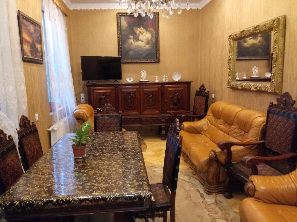 Zona de estar de Tamar Guest House