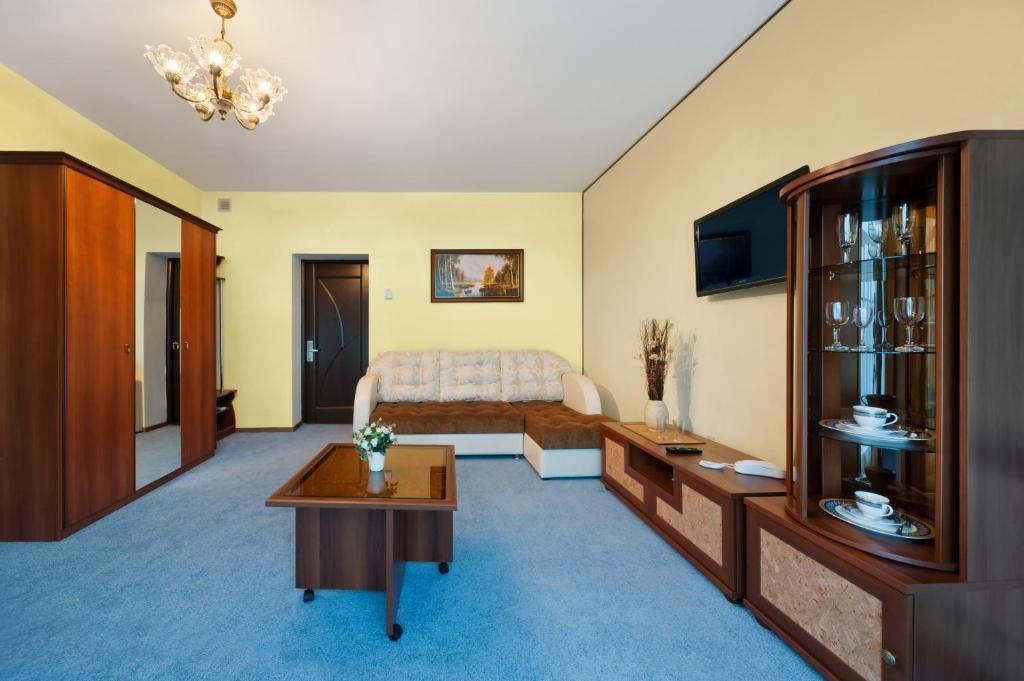 Гостиная зона в Гостиница Украина