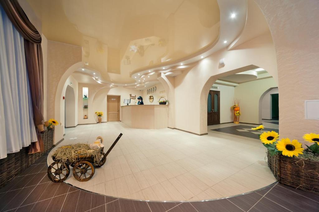 Лобби или стойка регистрации в Гостиница Украина