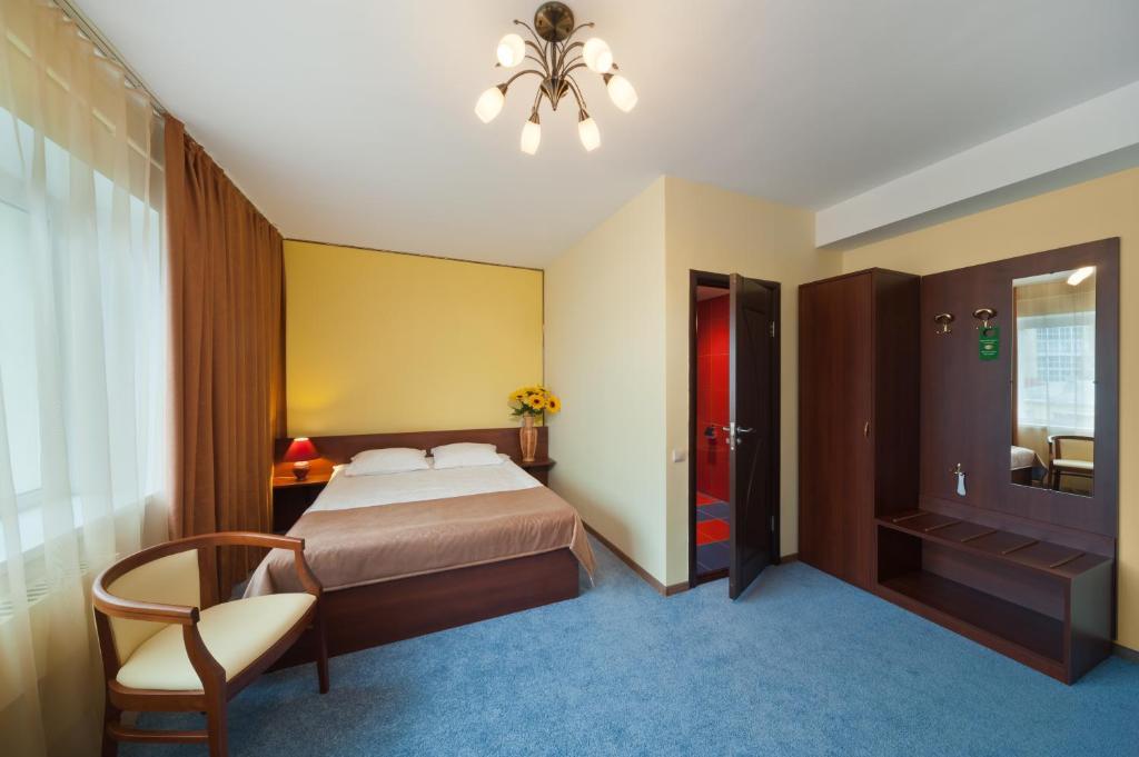 Стандартный двухместный номер с 1 кроватью: фотография номер 2