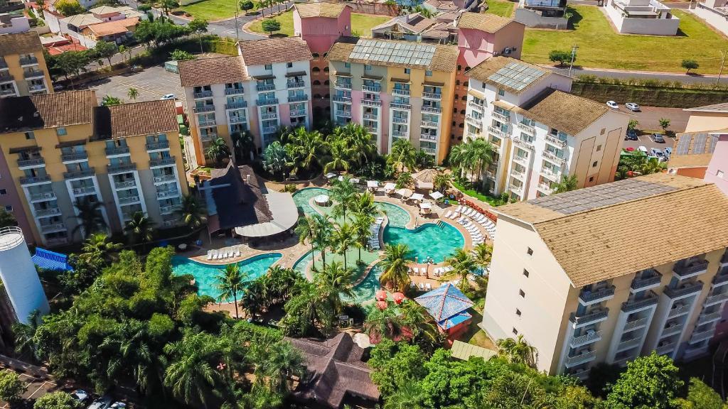 A bird's-eye view of Nobile Resort Thermas de Olímpia