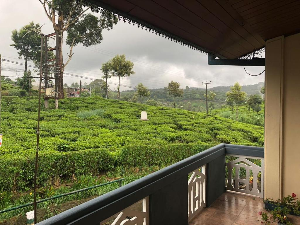 A balcony or terrace at Pedro View Homestay
