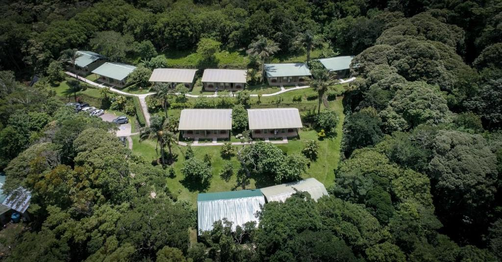 A bird's-eye view of Cloud Forest Lodge