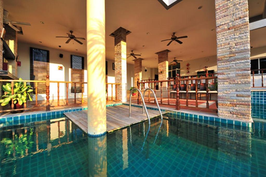 The swimming pool at or near APK Resort