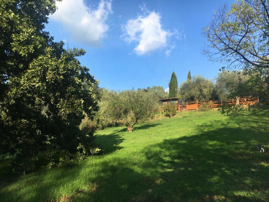 A garden outside Madonnella Agricola