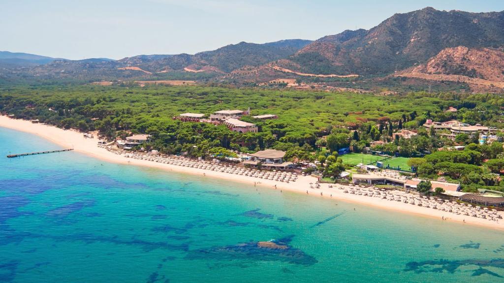 A bird's-eye view of Forte Village Resort - Villa Del Parco & Spa