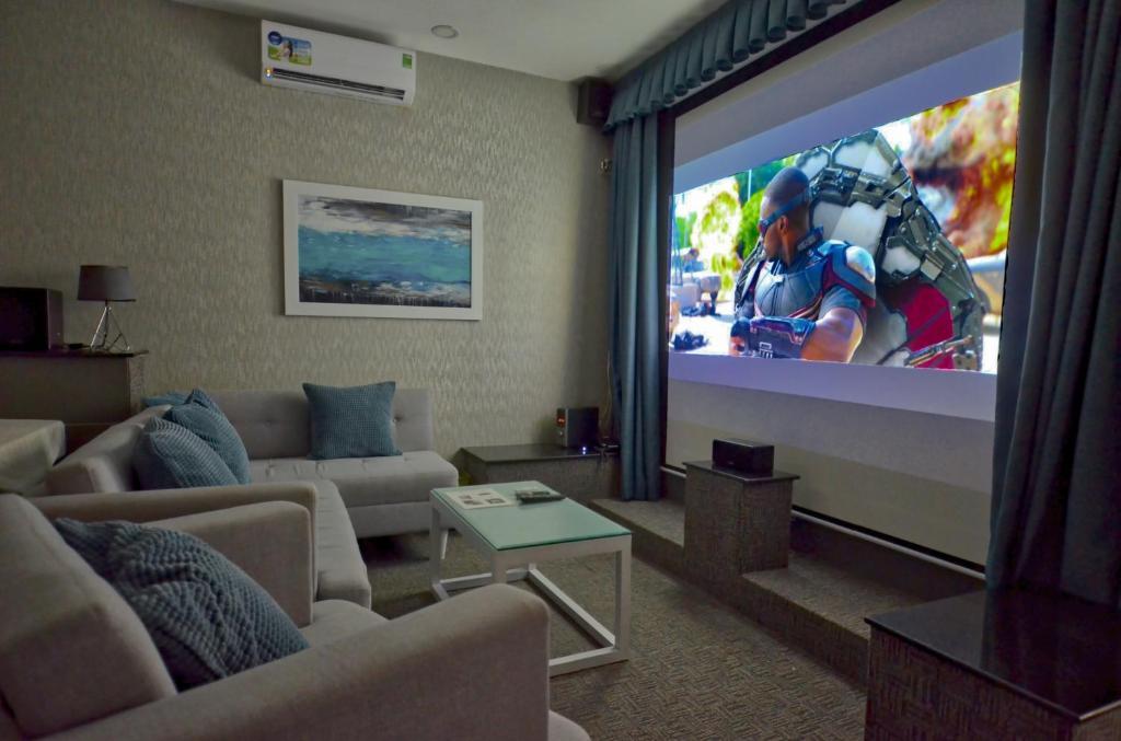 Suite Cinema Nhìn Ra Đồi - Bao Gồm Spa