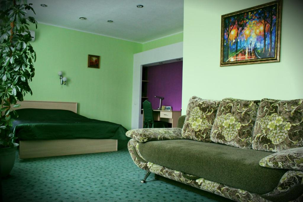 Гостиная зона в Отель Александр Хаус