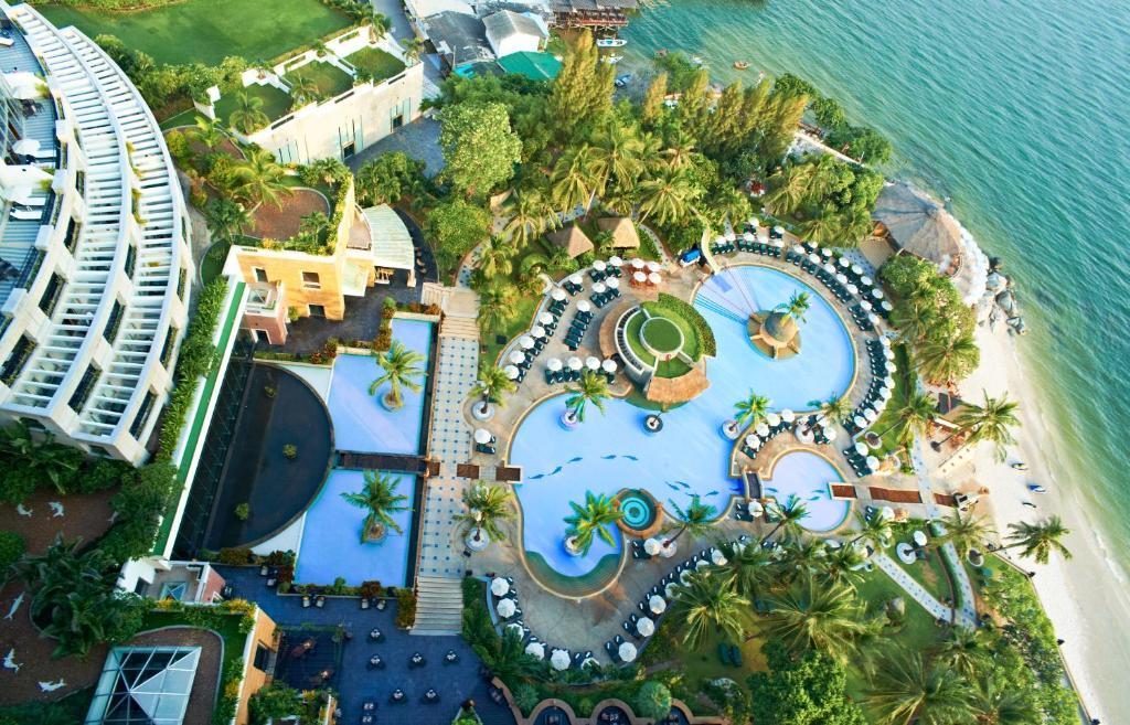 A bird's-eye view of Hilton Hua Hin Resort & Spa