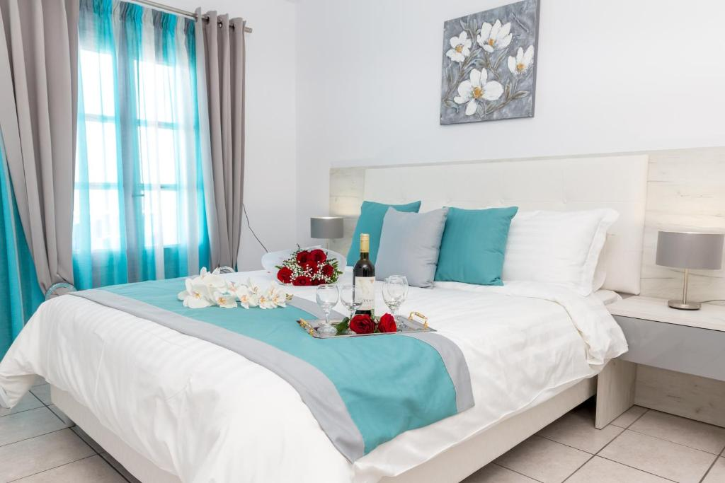 Letto o letti in una camera di Margarita Hotel