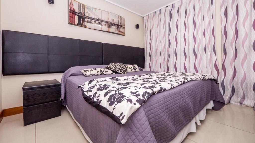 Cama o camas de una habitación en Carmelitas Studio