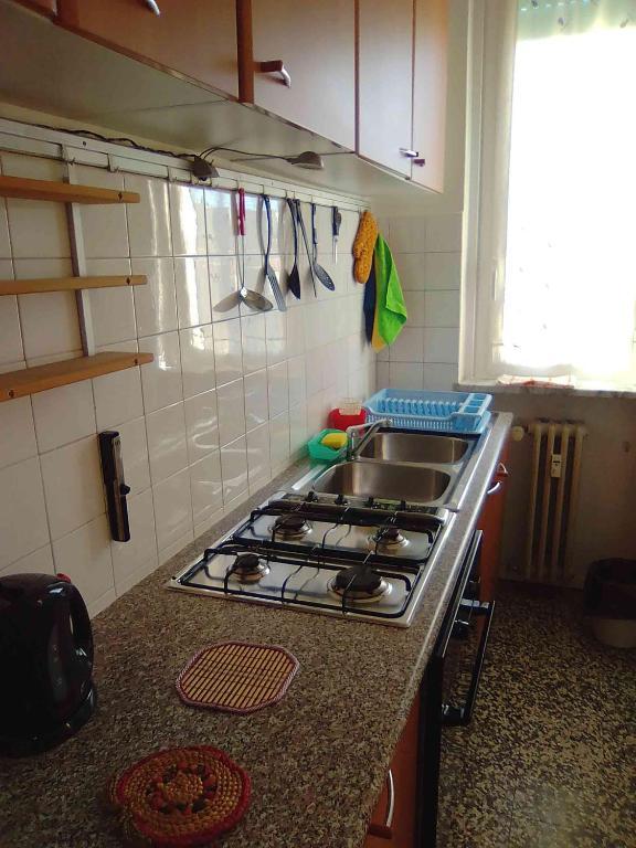 Cucina o angolo cottura di vigevano apartment Bonecchi