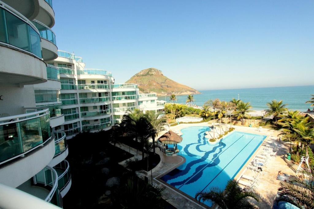 Pemandangan kolam renang di Praia do Pontal Resort atau di dekatnya