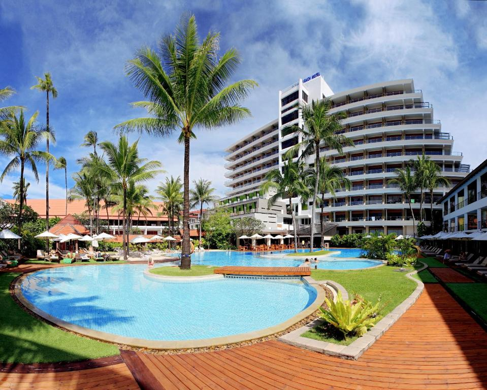 The swimming pool at or near Patong Beach Hotel