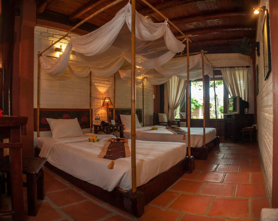 Phòng Superior Giường Đôi/2 Giường Đơn Nhìn Ra Vườn.