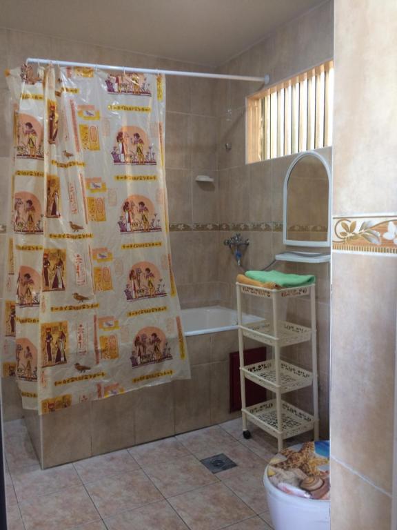 A bathroom at Guest House Berezhok