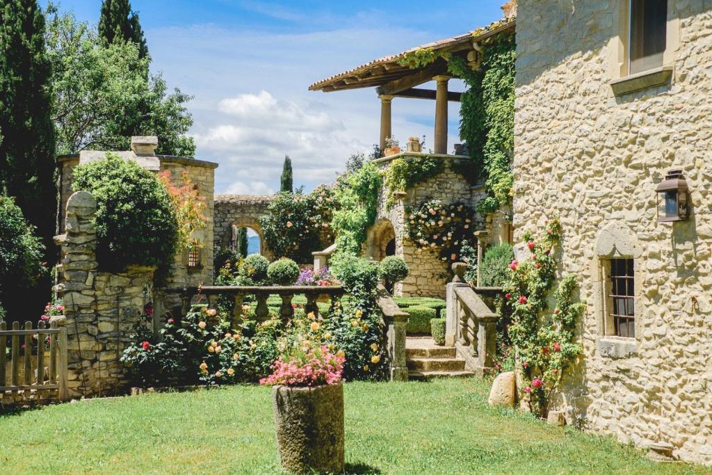 Jardin de l'établissement La Lauren