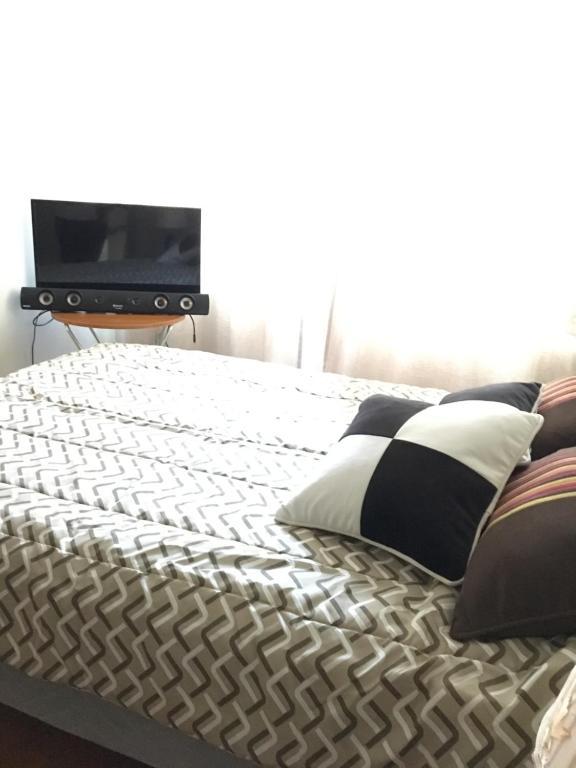 Cama o camas de una habitación en Departamento Maravilloso 1