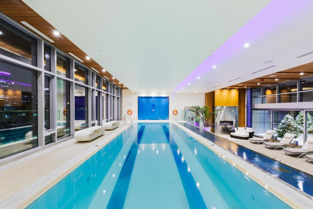 The swimming pool at or near The Ritz-Carlton Montreal