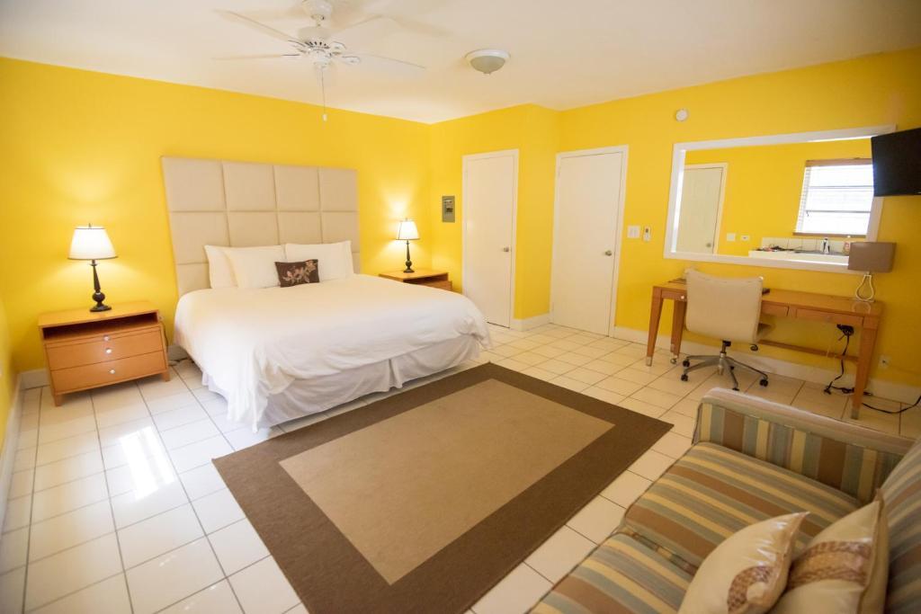 A room at Royal Palm Hotel