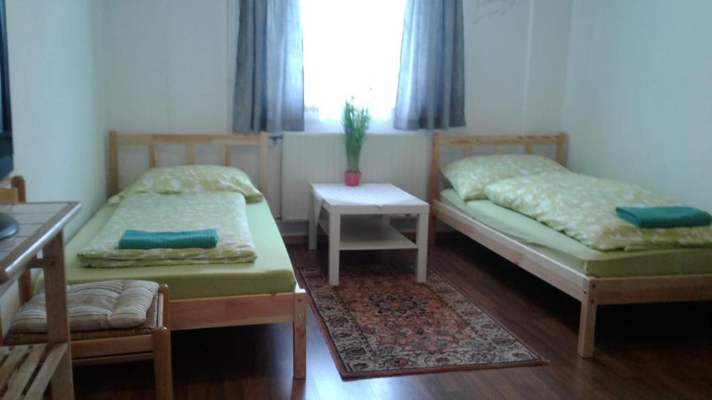 Ein Bett oder Betten in einem Zimmer der Unterkunft Apartment don bosco