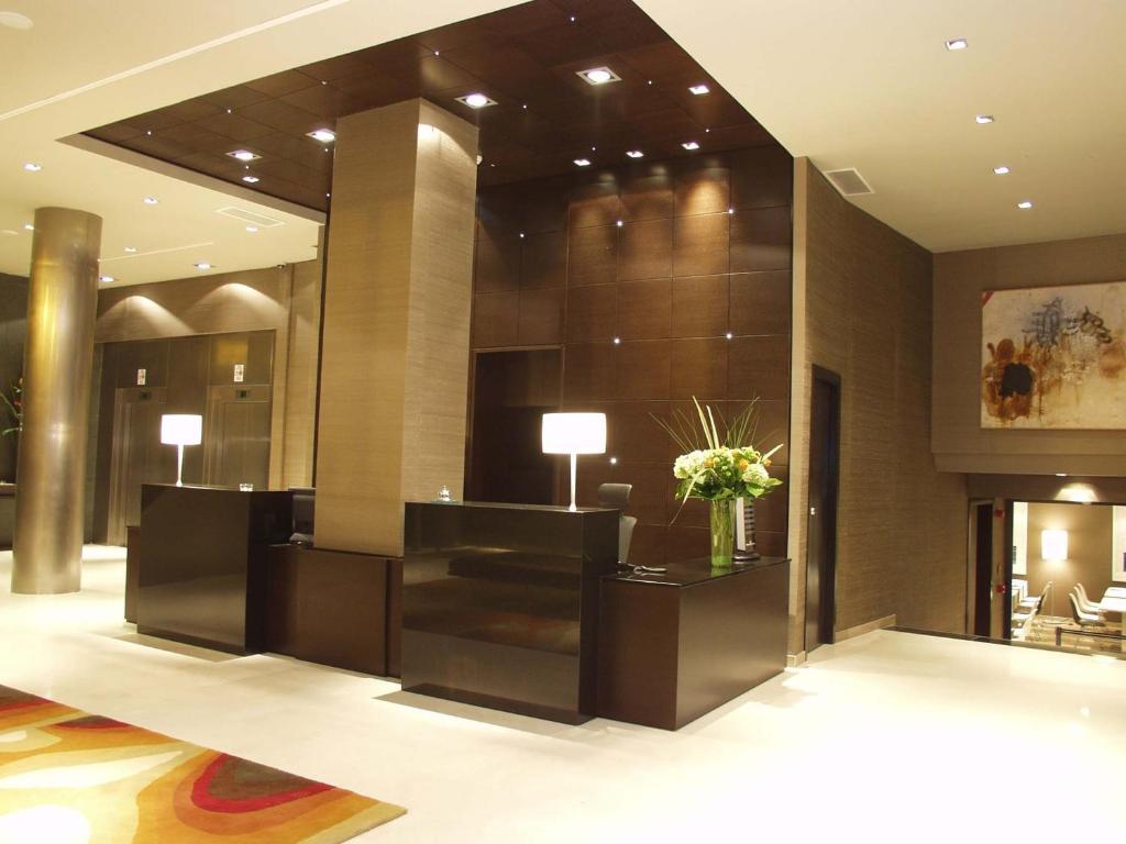 El vestíbulo o zona de recepción de Hotel Conqueridor