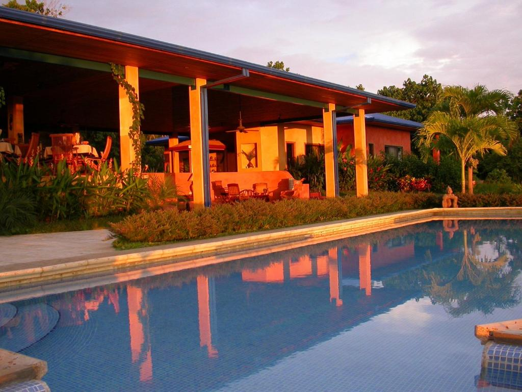 The swimming pool at or near Boutique Hotel Luna Azul