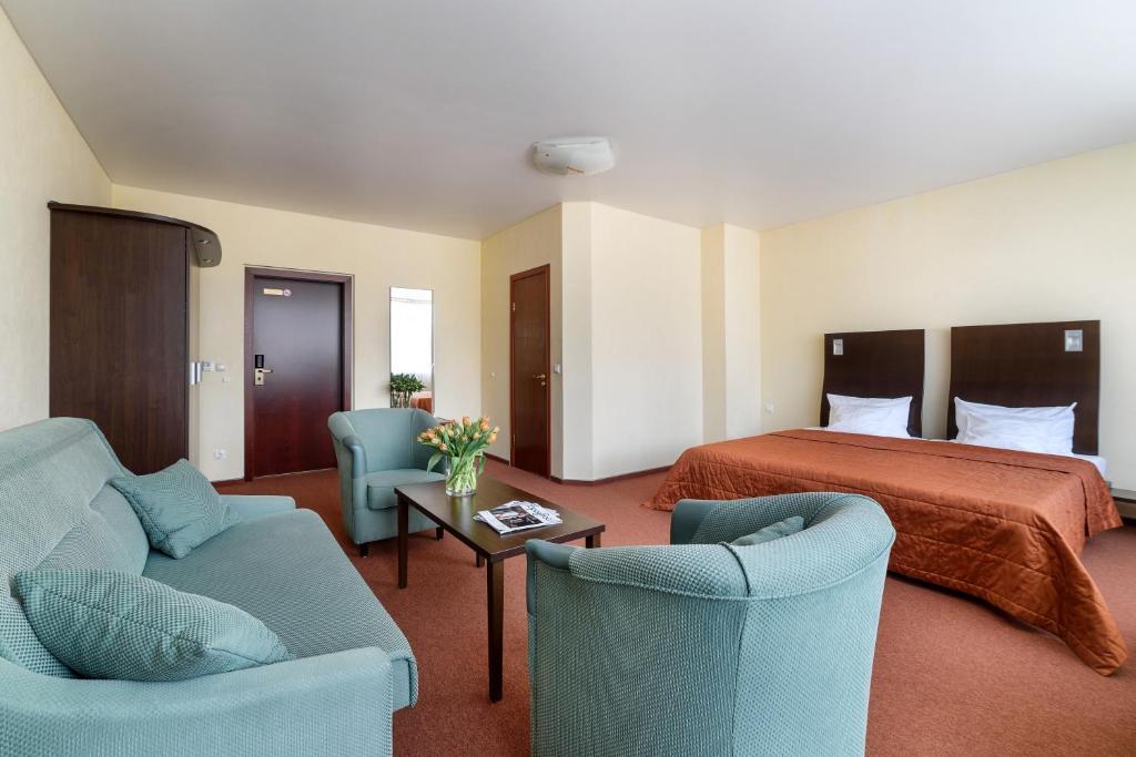 Гостиная зона в Отель Раушен