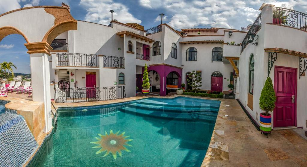 The swimming pool at or near Boutique Pueblo Lindo
