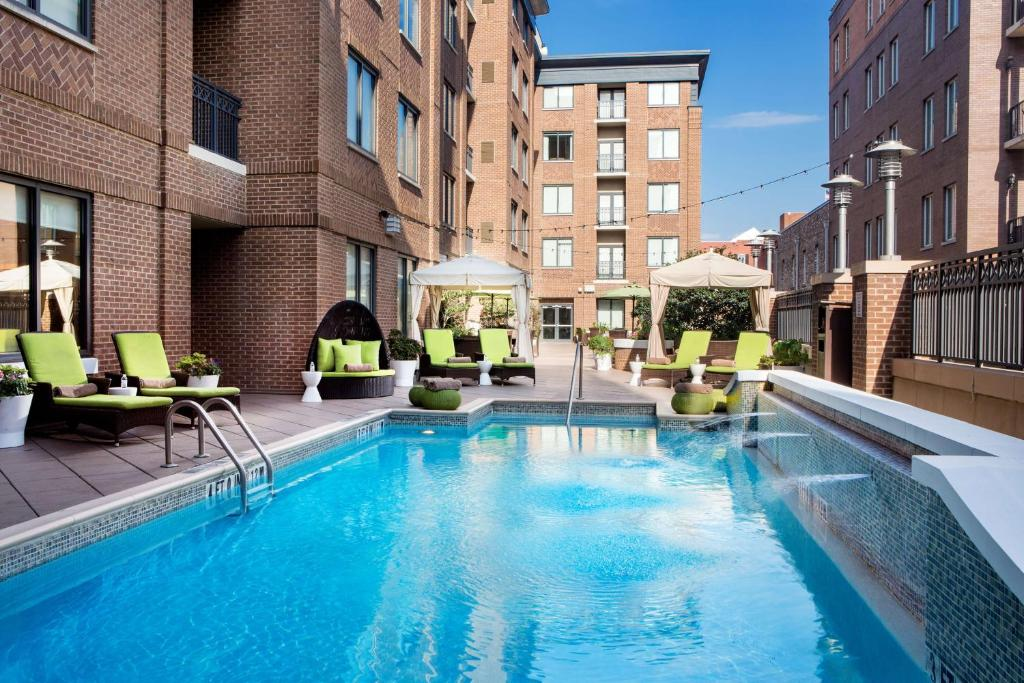 The swimming pool at or near Andaz Savannah - A Concept by Hyatt