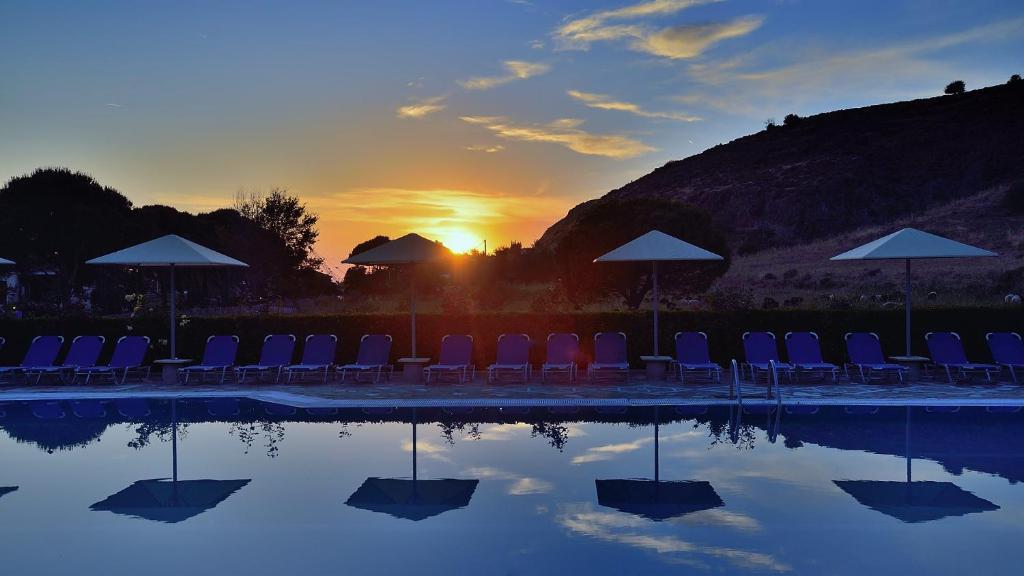 Πισίνα στο ή κοντά στο Ξενοδοχείο Πανόραμα