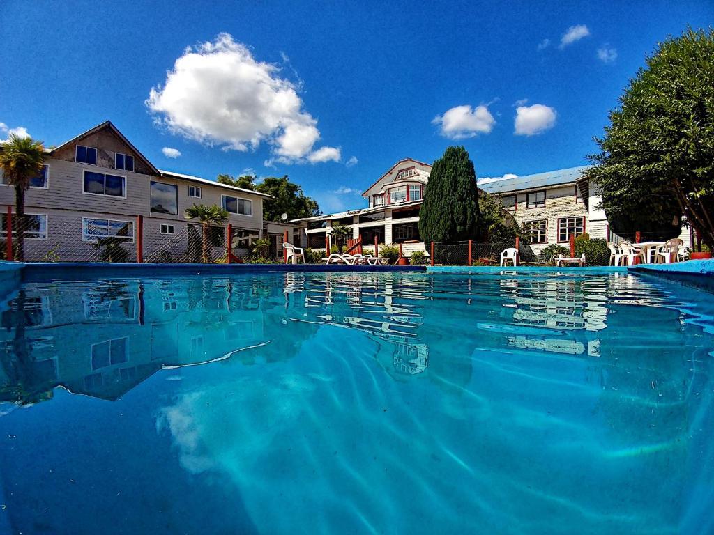 The swimming pool at or near Hotel Casa de la Oma