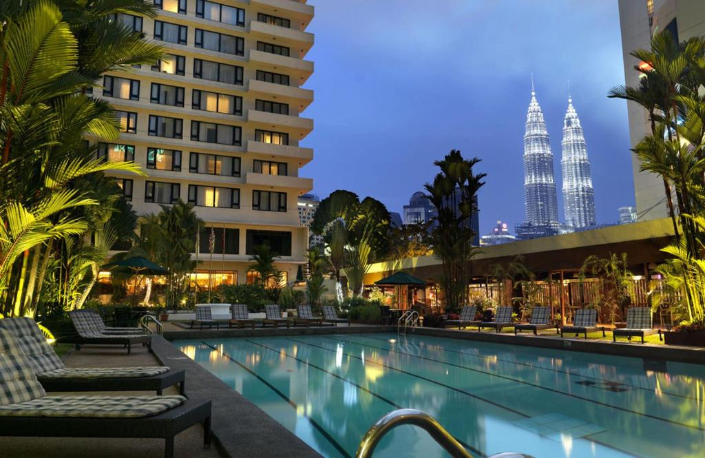 The swimming pool at or close to The Federal Kuala Lumpur