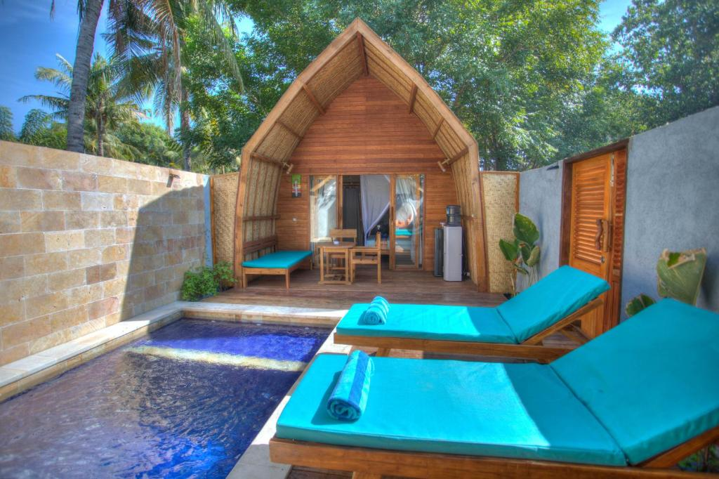 Villa Hoomea Private Pool (Indonesia Gili Air) - Booking.com