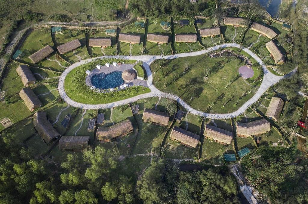 A bird's-eye view of Alba Wellness Resort By Fusion