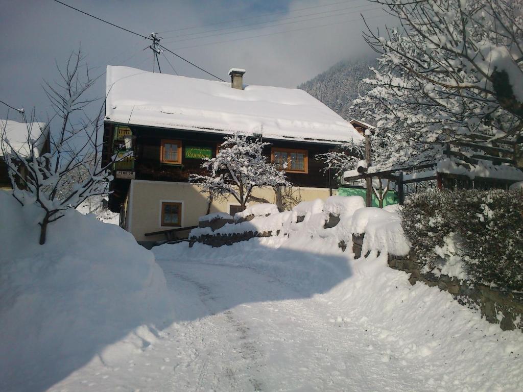 Kräuterpension Rosenkranz during the winter