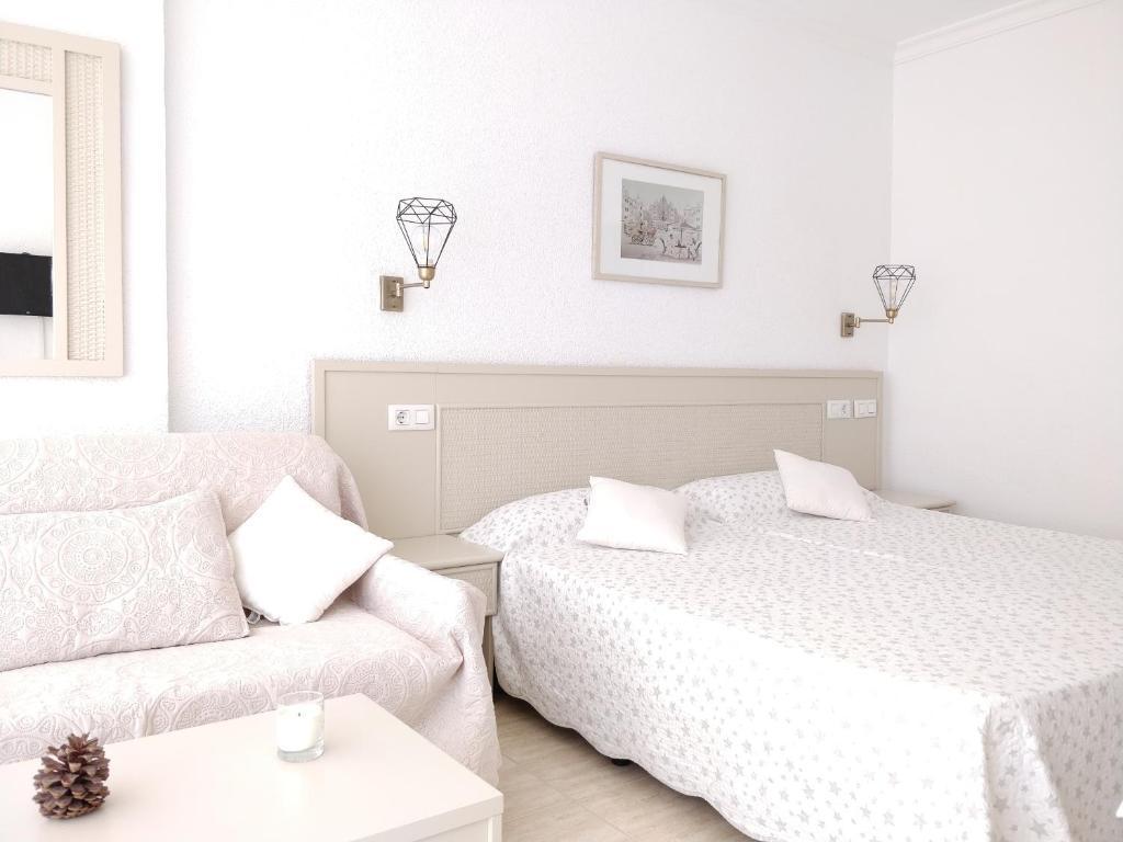 Cama o camas de una habitación en Apartamento Playa Martianez
