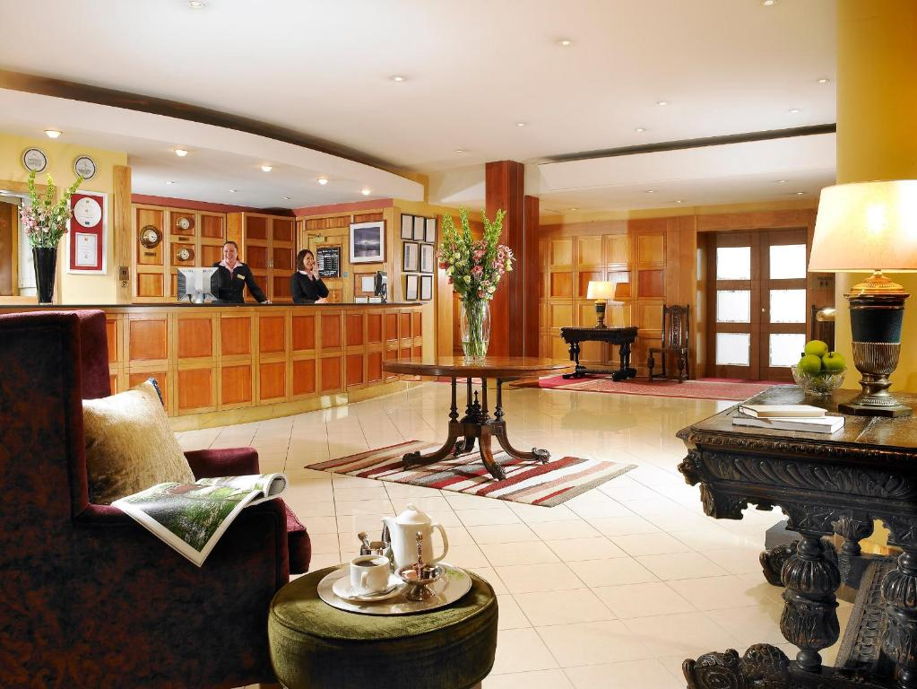 The lobby or reception area at Hotel Westport - Leisure Spa and Conference