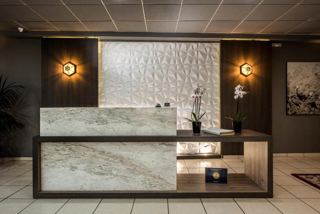 Hol lub recepcja w obiekcie Galaxy Hotel