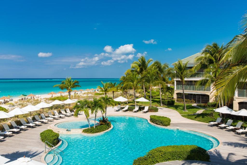 A view of the pool at The Sands at Grace Bay or nearby