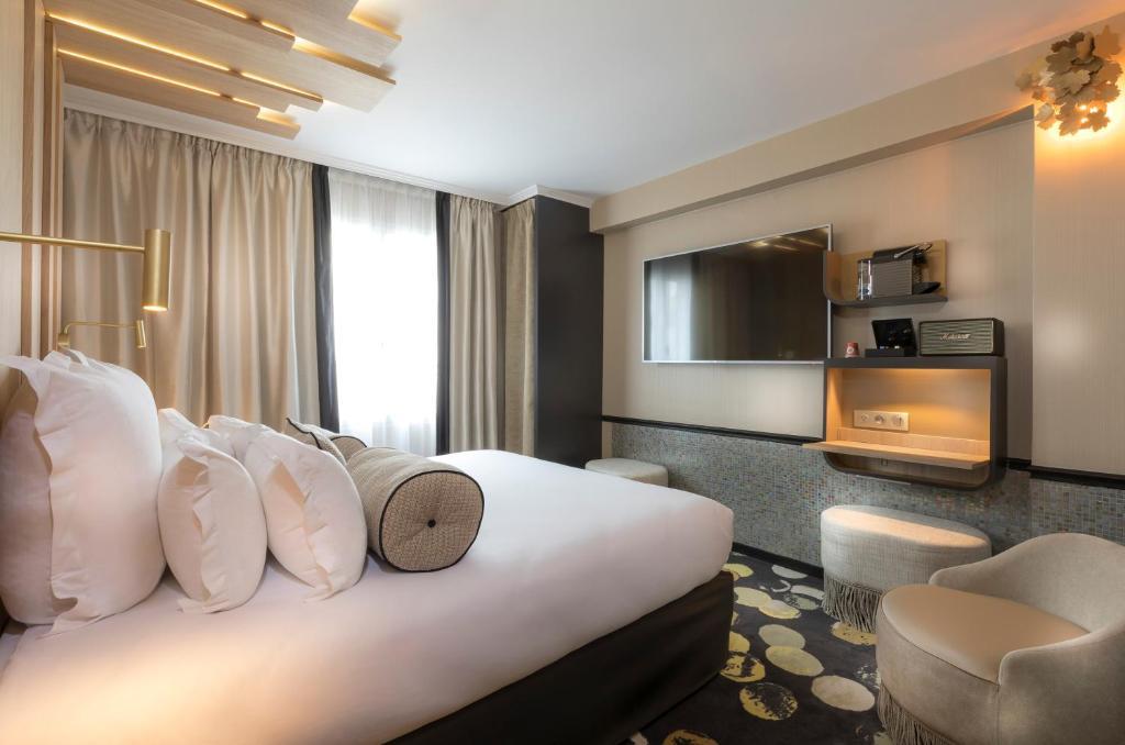 A room at Hotel Du Cadran