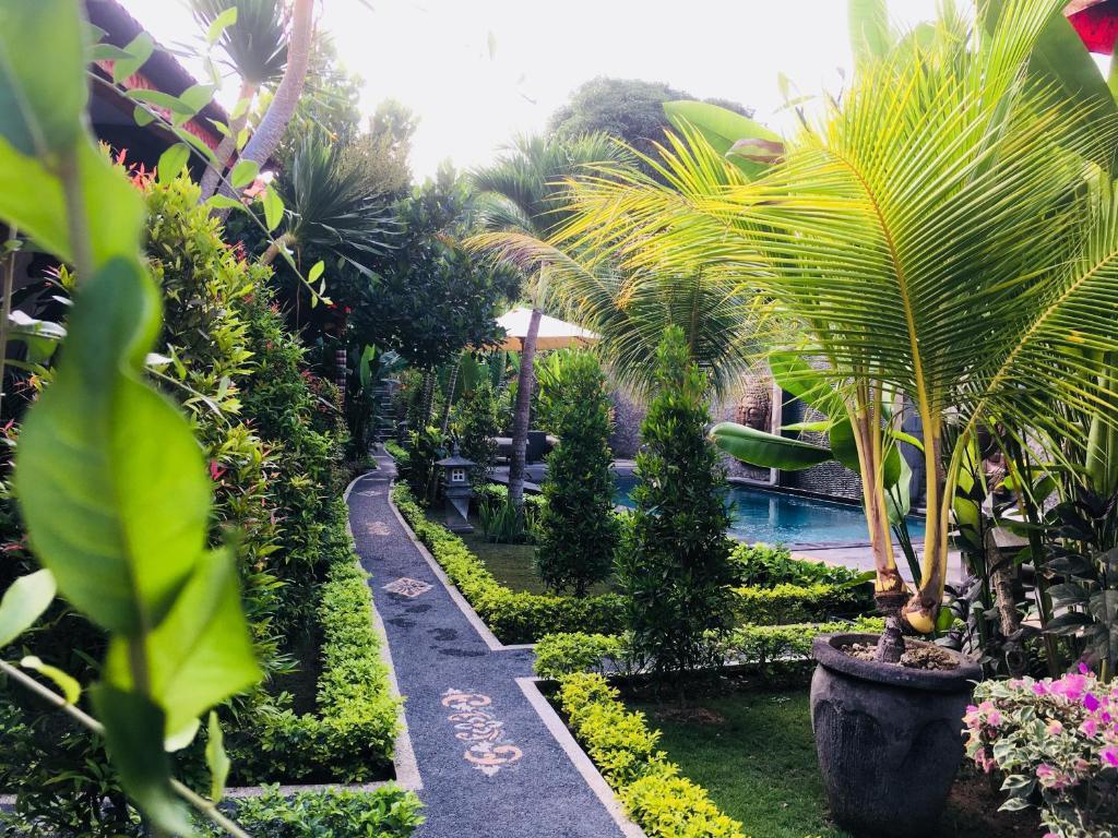 A garden outside Isola D'Oro