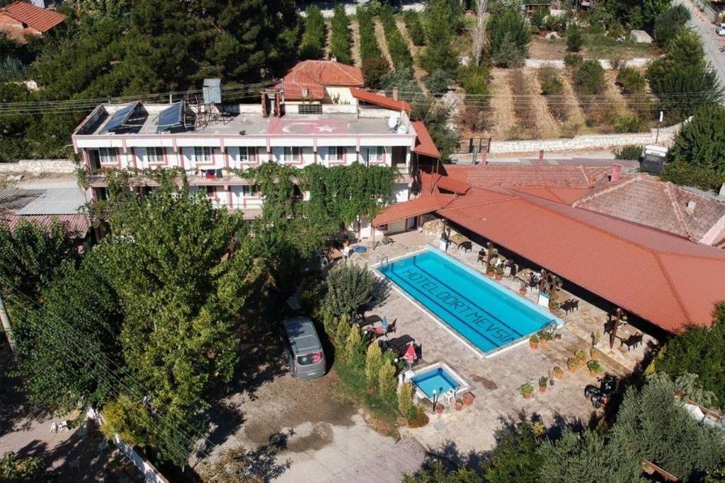 Hotel Dort Mevsim Tyrkiet Pamukkale Booking Com