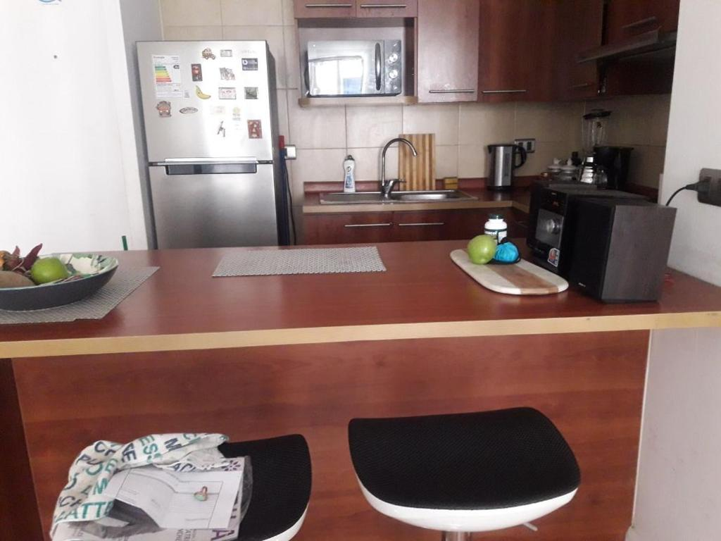 Una cocina o zona de cocina en Centro Anita