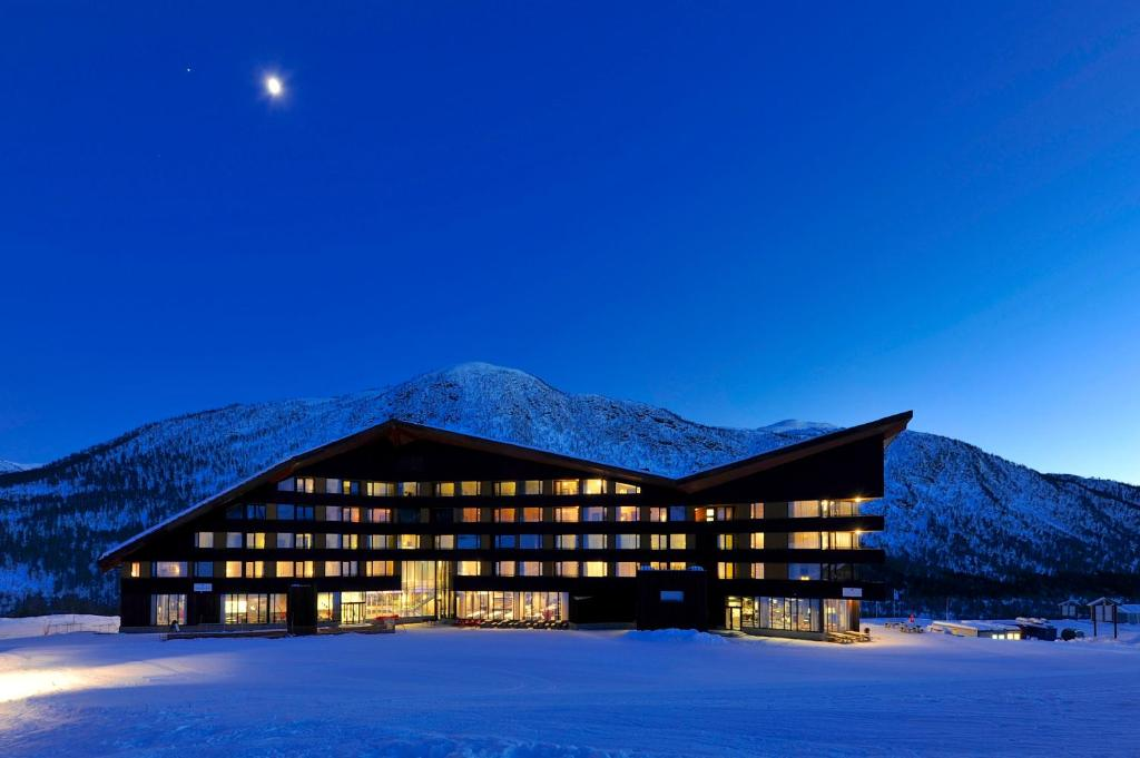 Myrkdalen Resort Hotel зимой