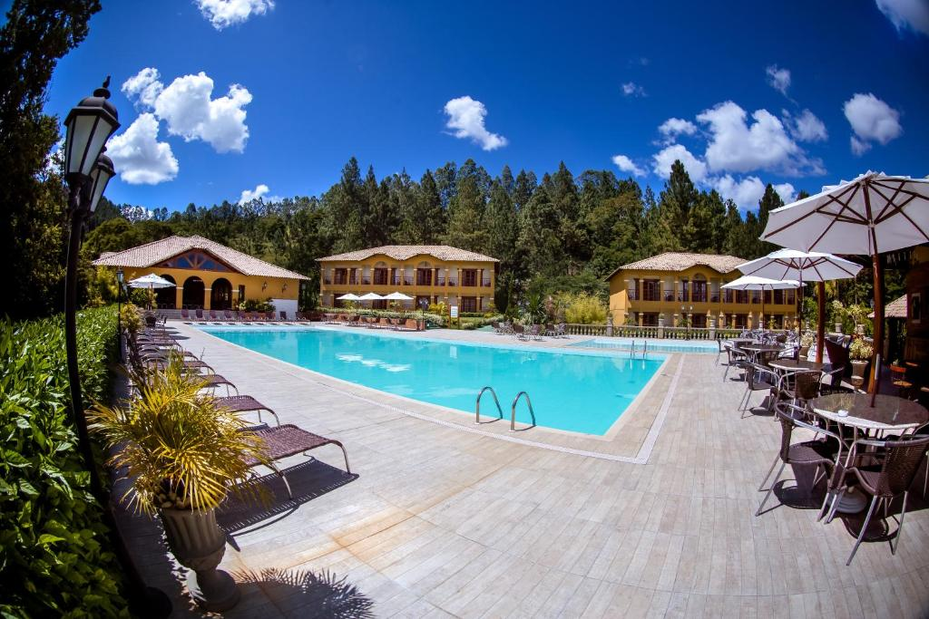 The swimming pool at or near Haras Morena Resort