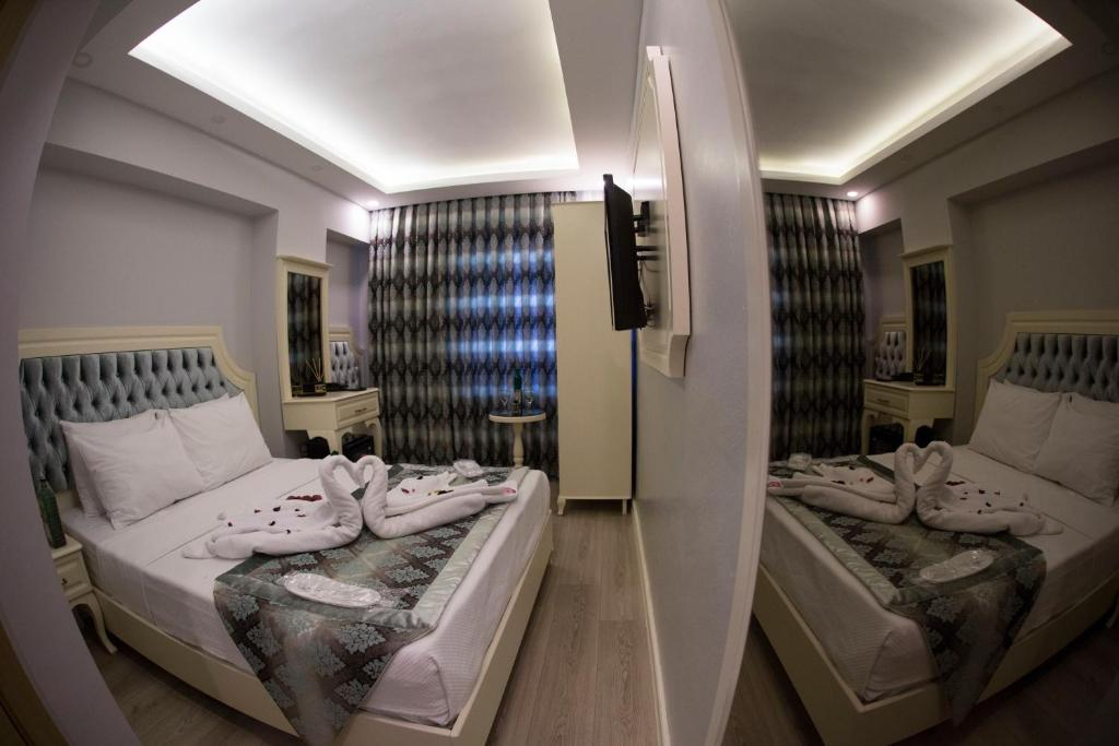 Гостиная зона в Sirkeci Ersu Hotel