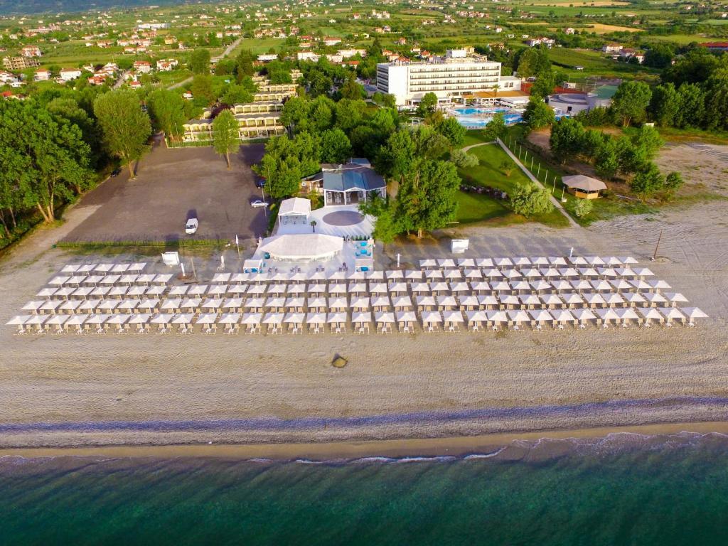 Άποψη από ψηλά του Bomo Olympus Grand Resort