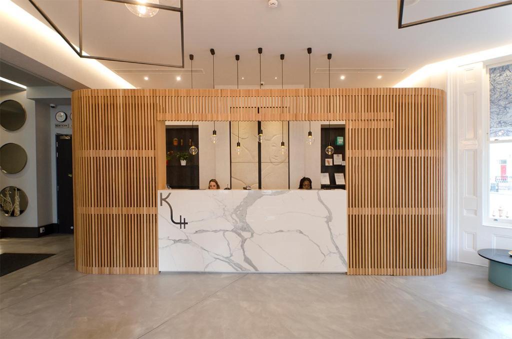 The lobby or reception area at K Hotel Kensington
